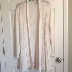 Sweater cardigan white XL Notations